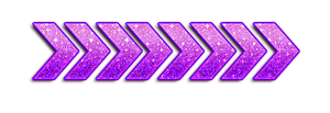 Arrow PNG With PURPLE Glitter by KimikoEditions