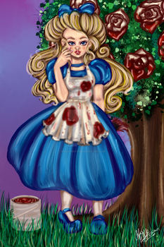 Painting the Roses Red by SanguineAllure