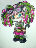 Cyber goth by Vegan-Freak