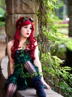 Steampunk Poison Ivy Cosplay #2 by Moshpitmonsta