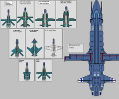 T.A.E Small Combat craft by wbyrd
