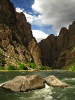 Black Canyon of the Gunnison by MirMidPhotos