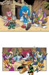 Sonic the Hedgehog #261 Page 01 by Gabriel-Cassata