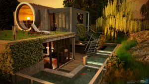 3ds Max - Exterior 10 by Puttee