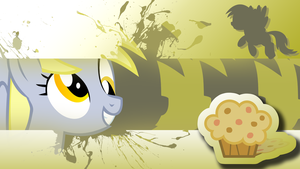 Derpy Hooves Wallpaper by Ninjanees