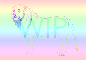 GET IN THE CAR ITS A LION by HallelujahImSetFree