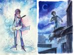 Nathaniel and Bartimaeus by Yonetee