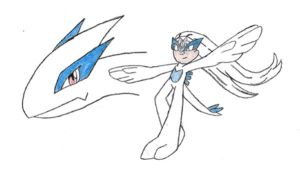 Bell as Lugia by stegosaur3