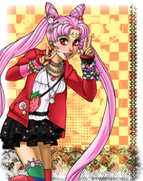 Japanese Street Fashion Chibiusa by KimiCookie