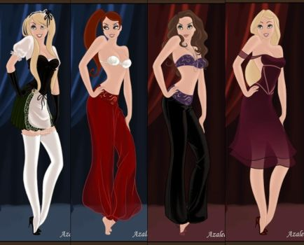 Jessica Rabbit in Fairy Tail by Arinna007