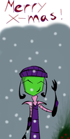 Merry X-mas by InvaderZaff