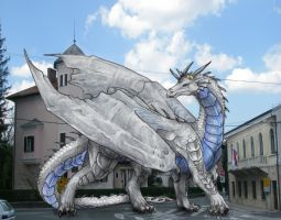 Silver dragon by sedsone