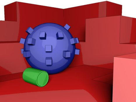 Cell Shading VRAY redux :P by Paulgswanson