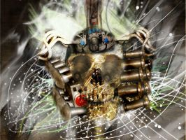 skull_machine by gilang2007