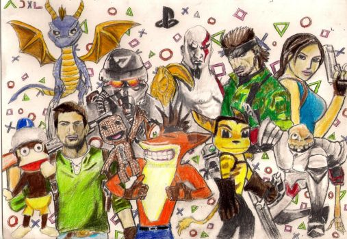 Playstation Legacy by PharmArtist
