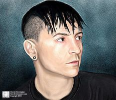 chester bennington_ by Xan-04