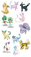 Pokemons by neneno