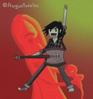 Marshall Lee - Sonic Temple by Augustusalex