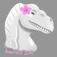Dino bae by AnnissXD
