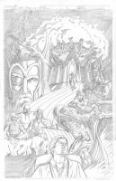 Thor Page 4 Pencils by Theamat