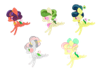 Sparkly Spring Nippers .:CLOSED:. by CocoaAdopts