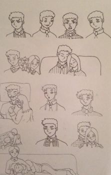 Fitz Sketches by Marle1010