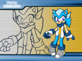 :SB: Nova the Hedgehog by NextGenProject