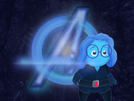 Inside Out+Avengers: Blue Widow (free background) by Cartuneslover16