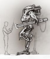 Remote Control Robot - Concept by ivangraphics