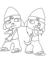 PaRappa and PaRanni by LittleMissAly