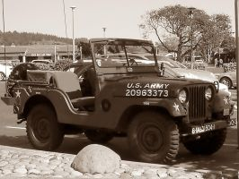 WWII Korean War era Army Jeep by Partywave