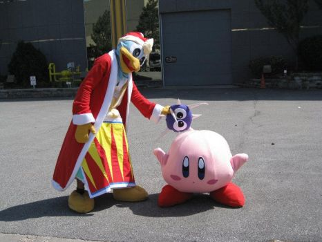 Kirby and King Dedede by Chibi-Soujiro