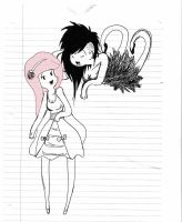 Marcy and Peebles by XxD3lIlaHxX