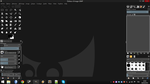 DarkBlack Theme for GIMP by tarkan-t29