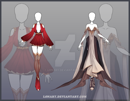 [Close] Design adopt_129-130 by Lonary