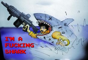 I'M A SHAAARK by PhiTuS