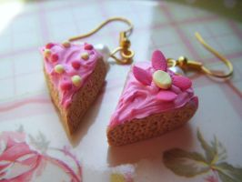 Tea Party Pink Vanilla Cake by Cinnamonster