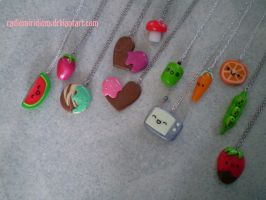 Sweet Necklaces by RadiumIridium