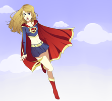 Supergirl by xXischaXx