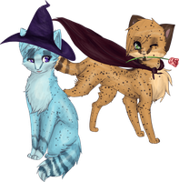 GingerFlight Halloween Commish by Annalei