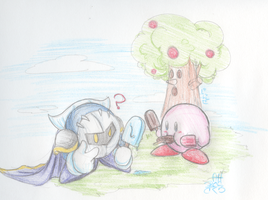 Meta knight - Kirby by PCCsakura
