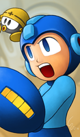 Mega Man by Ribera