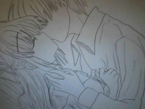 Kissing couple!!!! by bananabelly3
