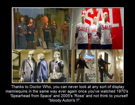 Doctor Who - Display Mannequin's and Auton's by DoctorWhoOne