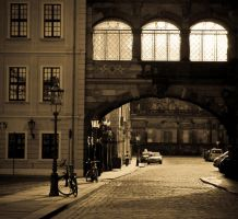 Dresden Streets by Frider