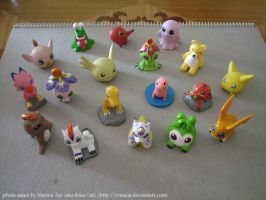 Rina's Digimon collection by rinacat