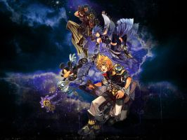 kingdom hearts - birth by sleep by LumenArtist