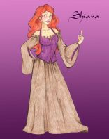 Shiara the Firewitch by jediprincess