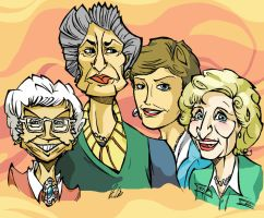 The Golden Girls by BrendanCorris
