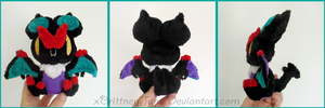 Noivern Beady-Eyed Plush by xBrittneyJane